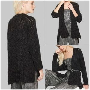 Wild Fable open knit chenille cardigan